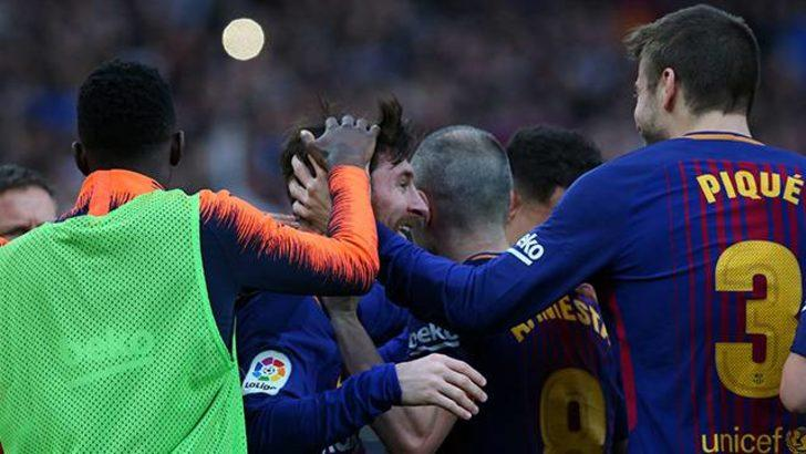 Barcelona 1 - 0 Atletico Madrid (Maç özeti)
