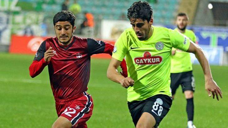 Gaziantespor Spor Toto 1. Lig'den düştü