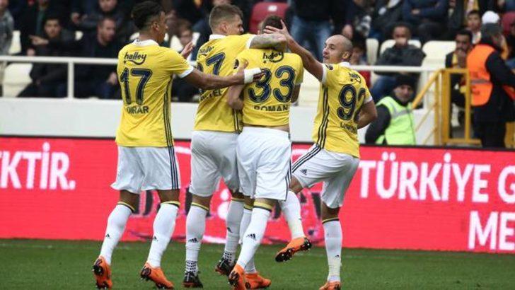 Yeni Malatyaspor 0 - 2 Fenerbahçe (Maç özeti)