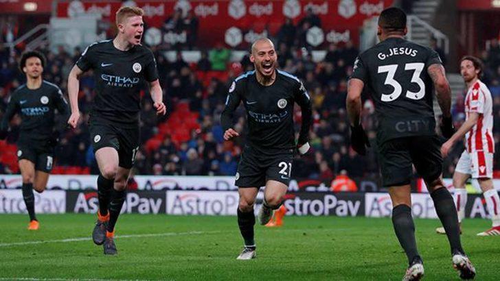 Stoke City 0 - 2 Manchester City