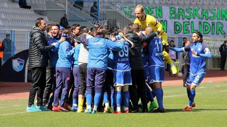 B.B. Erzurumspor 5 - 4 Akın Çorap Giresunspor (Maç özeti)