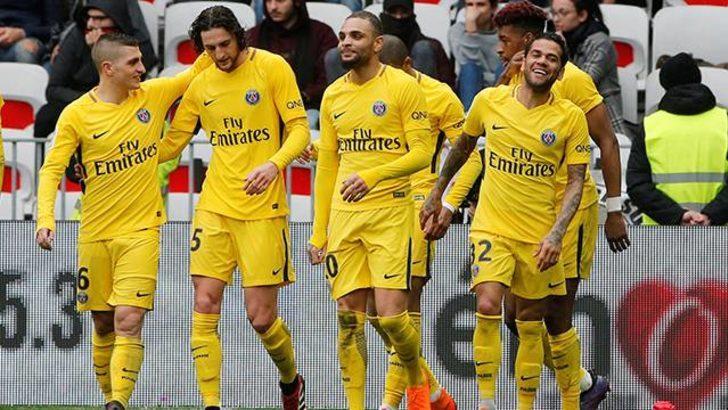 Nice 1 - 2 PSG (Maç özeti)