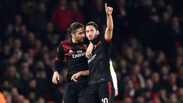 Hakan Çalhanoğlu'ndan Chievo'ya süper gol
