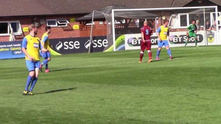 Abingdon United-Abingdon Town maçı 17-0 bitince hakem maçı erken bitirdi
