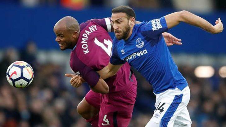Everton 1 - 3 Manchester City (Maç özeti)