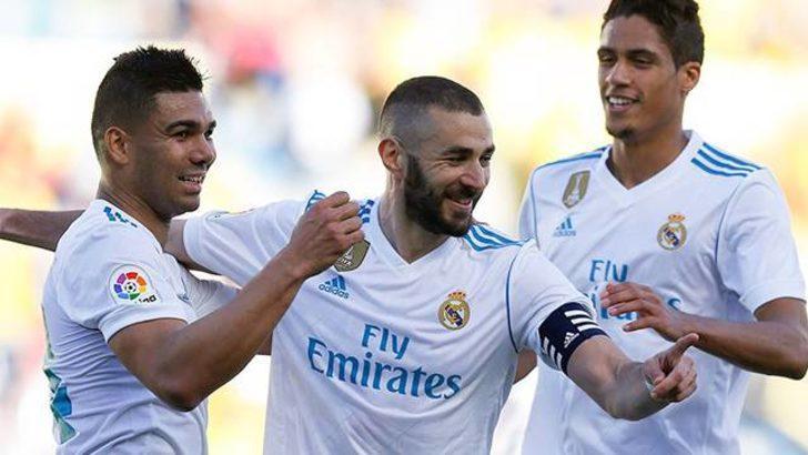 Las Palmas 0 - 3 Real Madrid (Maç özeti)