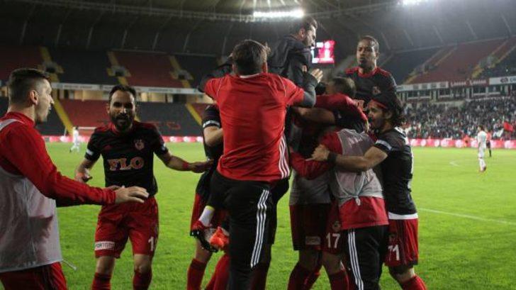 Gazişehir Gaziantep 1 - 0 Adana Demirspor (Maç özeti)