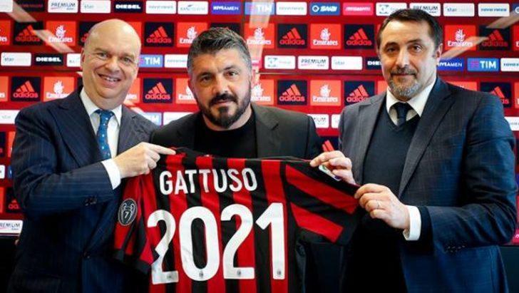 Milan'da Gattuso ile yola devam!