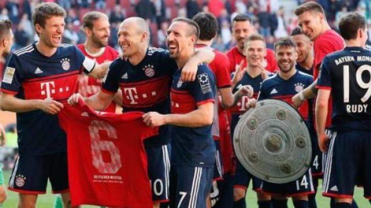 Bayern Münih üst üste 6. kez şampiyon