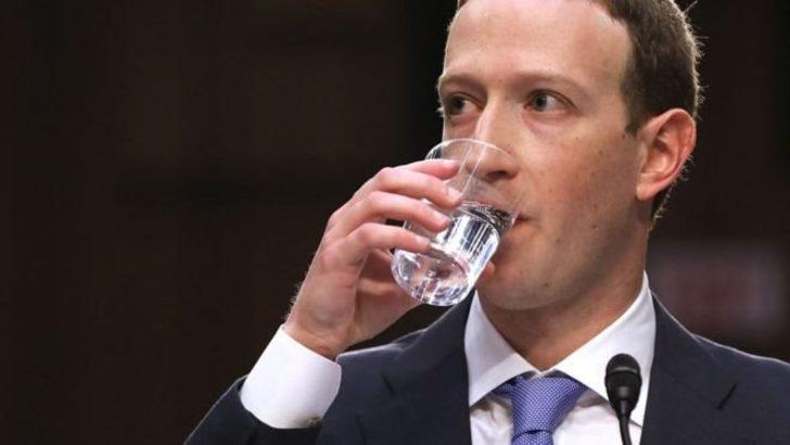 Zuckerberg'in ABD Kongresi'ndeki yüz ifadeleri sosyal medyada espri konusu oldu