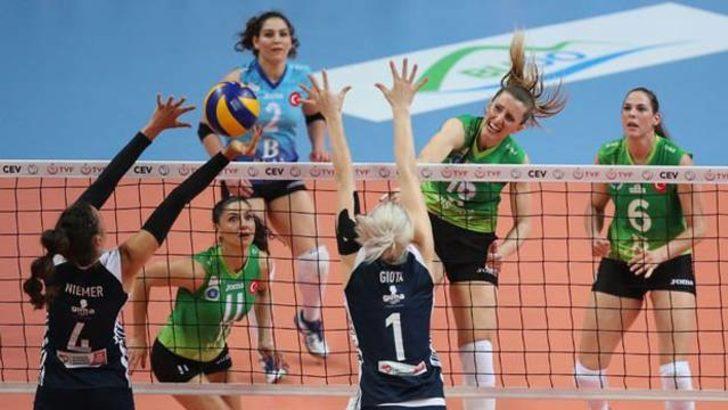 Bursa BŞB: 1 - Olympiakos: 3
