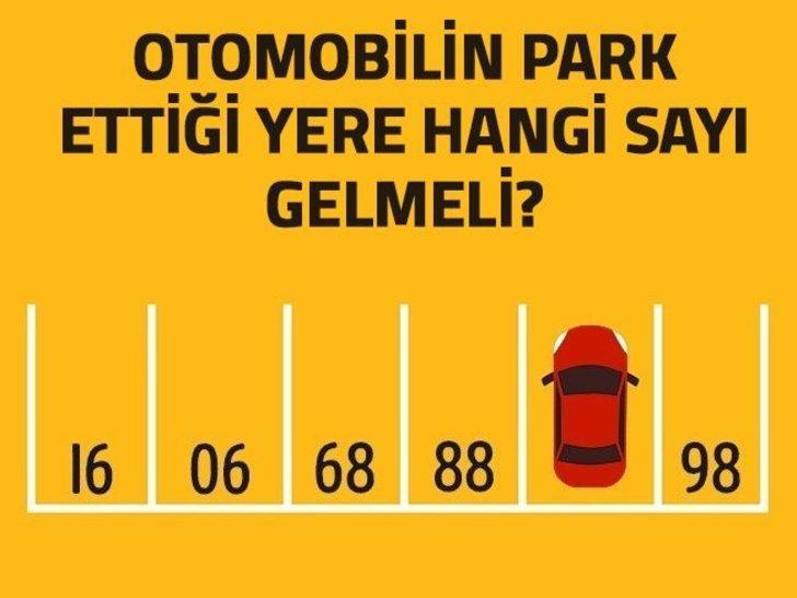 Park yeri numarası