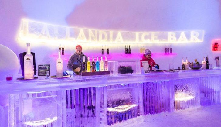 Buz Restoranı, Finlandiya