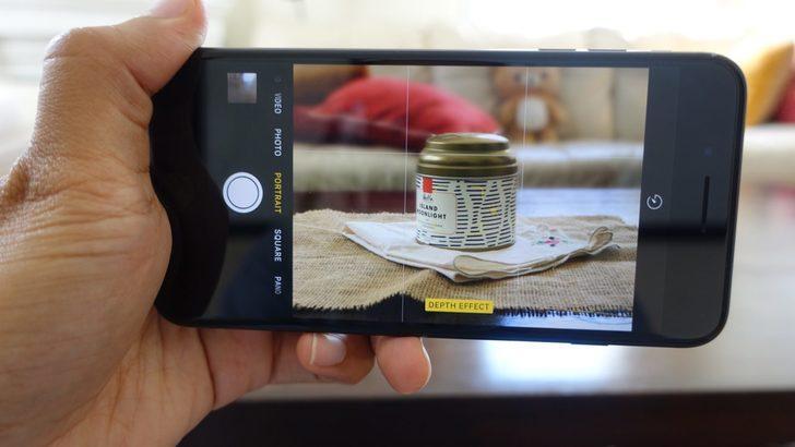 Portre modu tek kameralı telefonlara geliyor