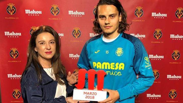 Enes Ünal Villarreal'de mart ayının en iyisi seçildi