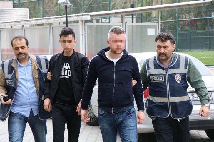Samsun'da silahlı kavga zanlıları tutuklandı