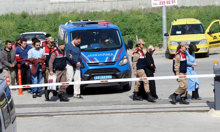 GÜNCELLEME - Edirne'de 11 FETÖ şüphelisi yakalandı