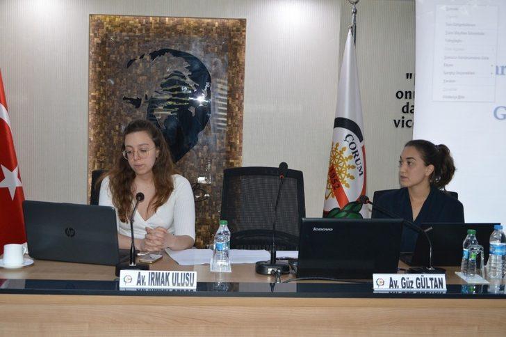 Çorum Barosu'ndan Uluslararası Mülteci Hukuku Çalıştayı