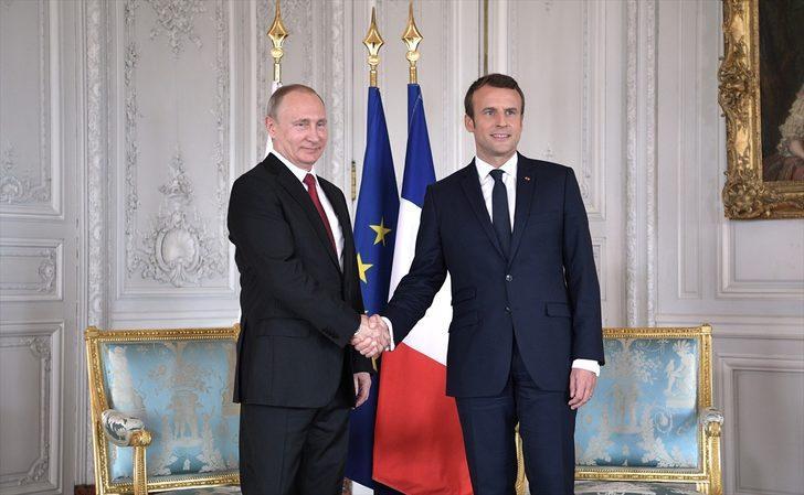 Putin y Macron hablan sobre el ataque químico en Guta Oriental