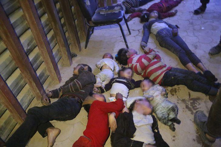 ABD'den Suriye açıklaması: Kimyasal saldırıyı Esad rejiminin yaptığının kanıtına sahibiz