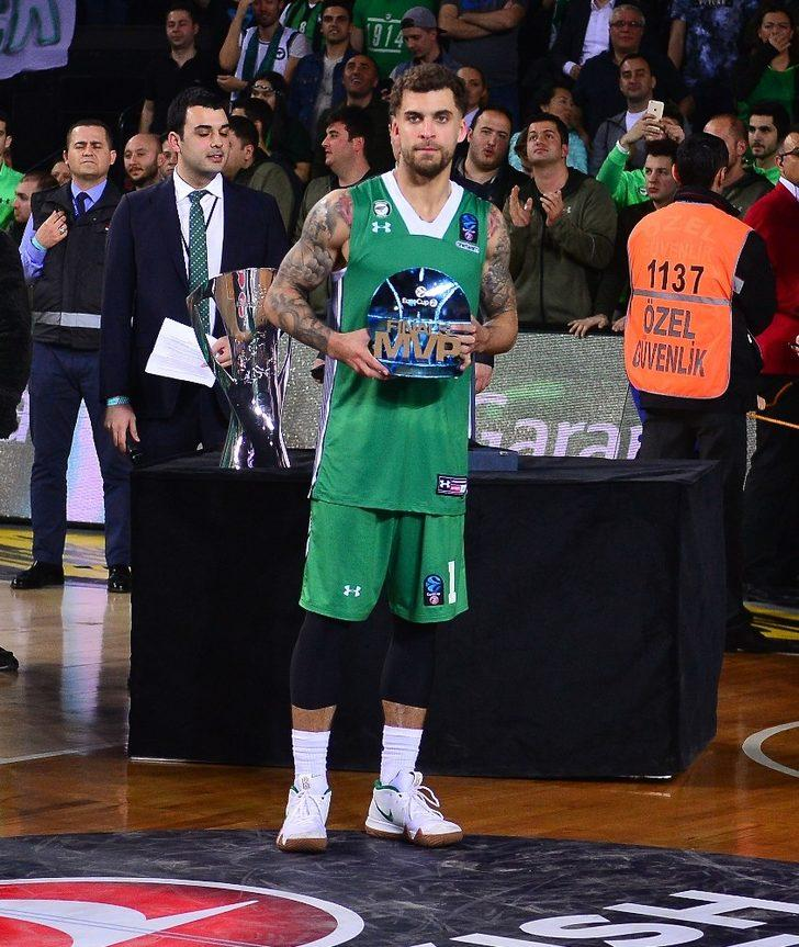 Eurocup Final MVP'si Scottie Wilbekin oldu