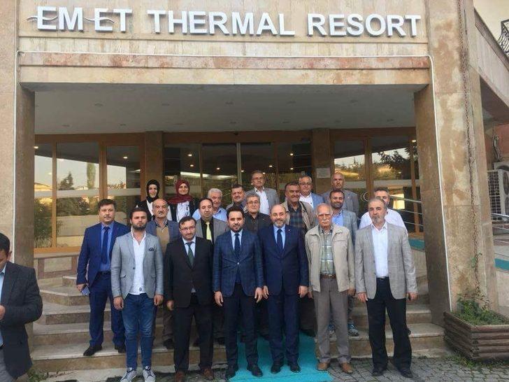 Başkan Çetinbaş ve Milletvekili Gazel Emet'in sorunlarını dinledi