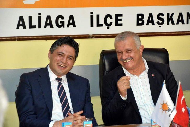 Başkan Serkan Acar'dan AK Parti'ye ziyaret