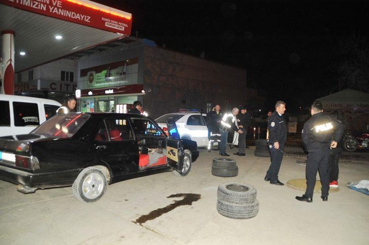 Ehliyetsiz sürücü polisi alarma geçirdi