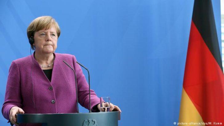 Merkel'den operasyona destek: Operasyon gerekliydi