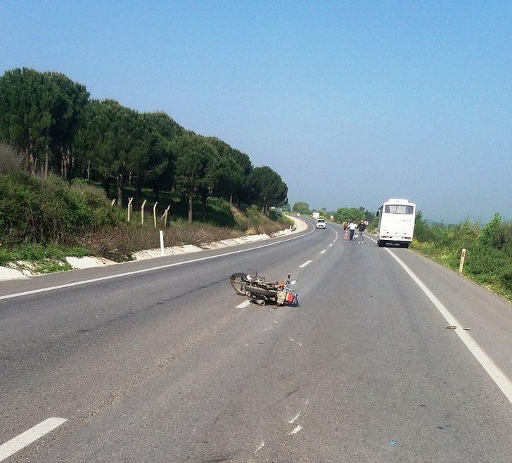 Çanakkale'de kaza: 1 yaralı