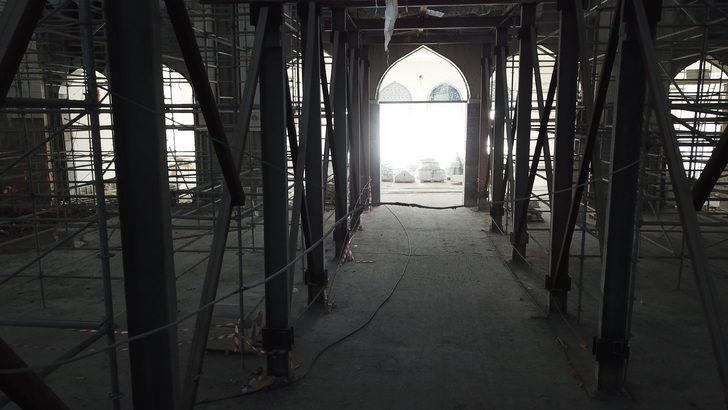Çamlıca cami 58 gün sonra ibadete açılıyor