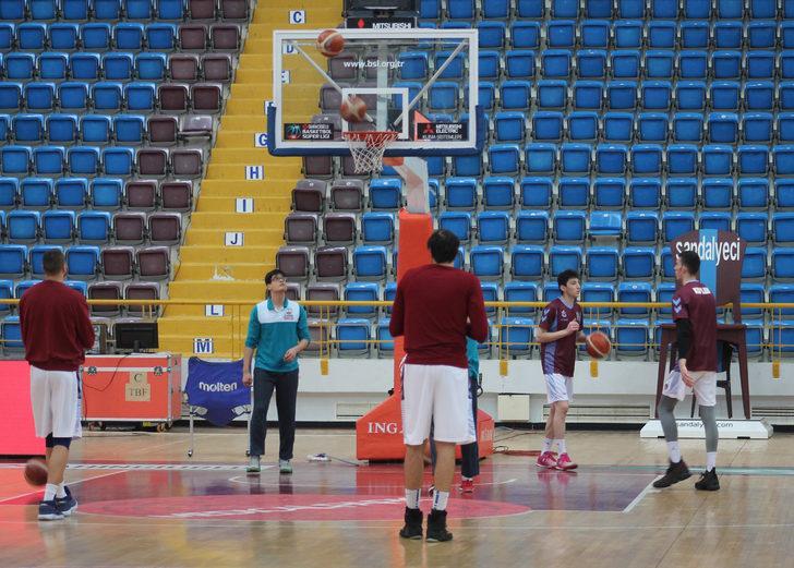Trabzonspor'da yabancı oyuncular, Eskişehir Basket maçına çıkmama kararı aldı
