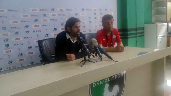 Denizlispor - Çaykur Rizespor maçının ardından