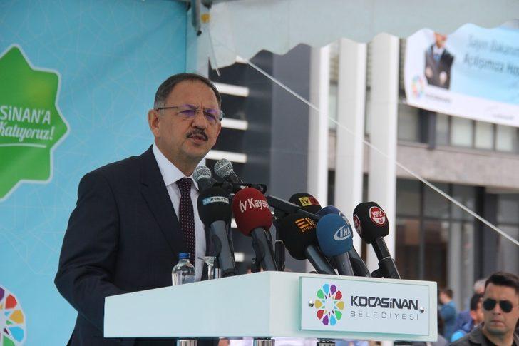 Eskişehir ile Kayseri arasındaki twitter atışmasına Bakan Özhaseki de dahil oldu