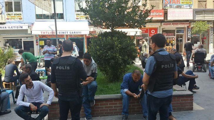 Kızıltepe polisinden şok uygulama