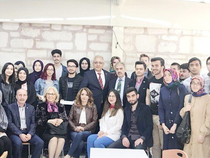 Başkan Dinç, gurbetteki Çankırılı öğrenciler ile buluştu