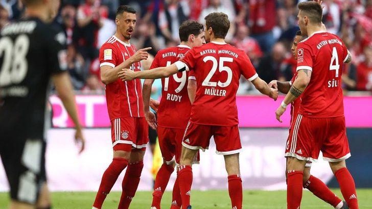 Bayern Münih 5 - 1 Borussia Monchengladbach (Maç özeti)