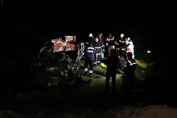 Nevşehir'de trafik kazası: 5 ölü, 4 yaralı