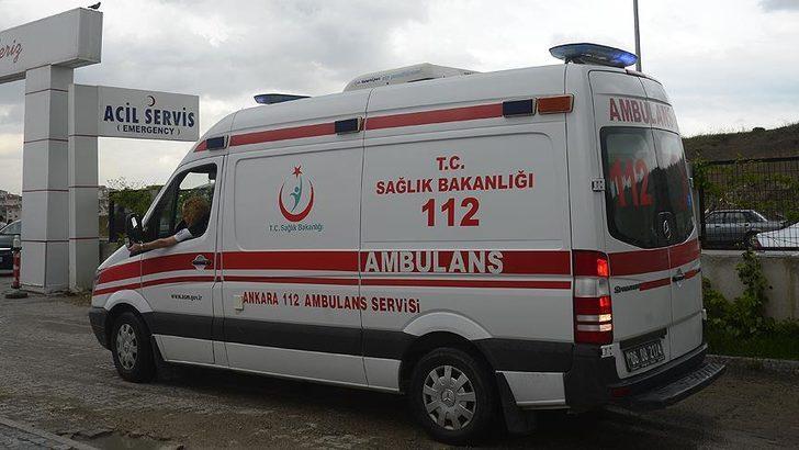 Ankara'da askeri araç kaza yaptı! Yaralılar var...