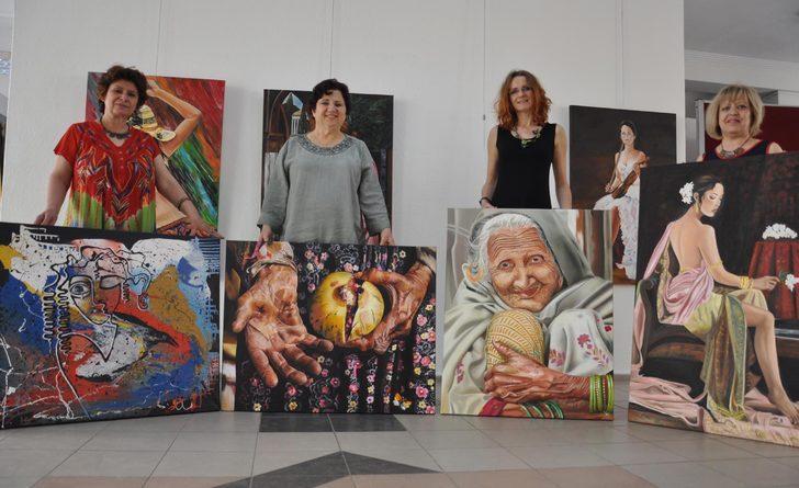 Biri Alman dört kadın emekli öğretmenden 'resim grubu'