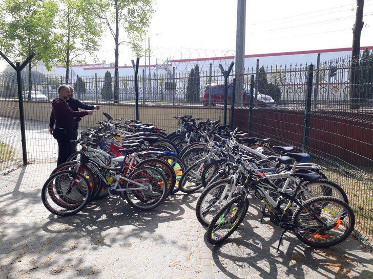 38 bisiklet çalan hırsızlar yakalandı