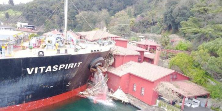 İstanbul Boğazı'nda geminin yalıya çarpma nedeni kara kutuda ortaya çıktı