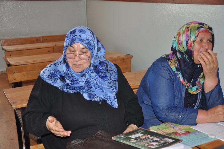 68 yaşındaki kadın kursiyer: Çocuklar okudu, sıra bende