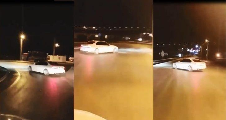 Bursa'da tehlikeli drift