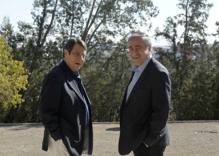 Kıbrıslı liderler yemekte buluşuyor