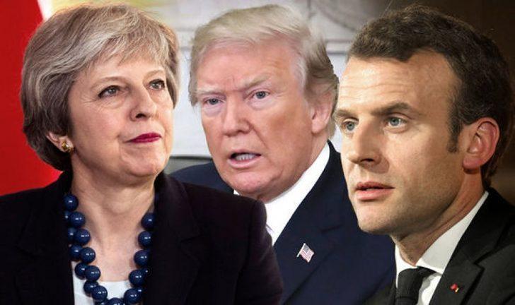 Suriye ile ilgili son dakika gelişmesi! ABD Fransa ve İngiltere'den yeni hamle