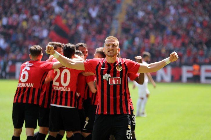 Spor Toto 1. Lig: Eskişehirspor: 5 - Samsunspor: 0 (Maç sonucu)
