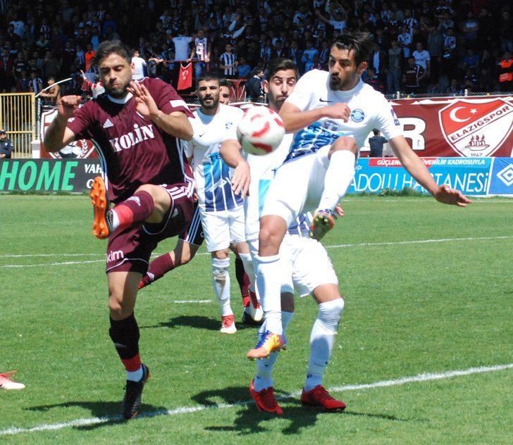 Tetiş Yapı Elazığspor- Adana Demirspor: 2-1