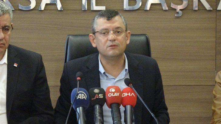 CHP'li Özel: BM heyetinin gitmesine saatler kala bomba yağdırdılar