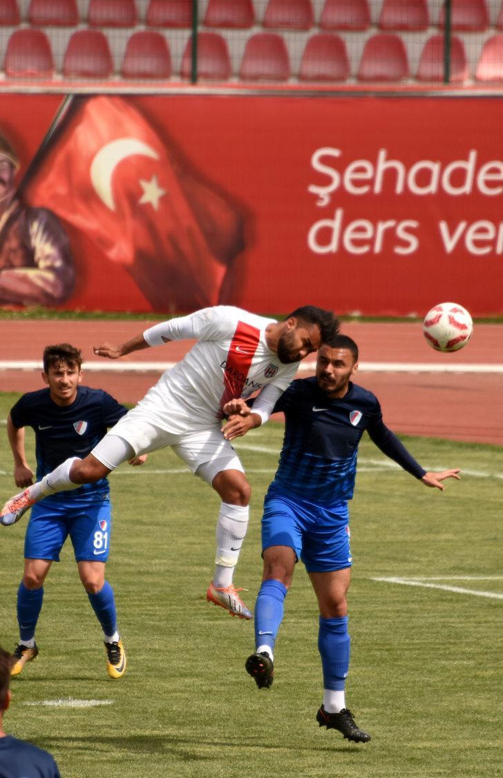 Çanakkale Dardanel - Düzcespor: 3-3